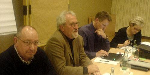 Bernd Zielinski, Dietmar Tendler, Dirk Schlömer und M. Jüdes-Dreesen