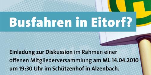 Busfahren in Eitorf?