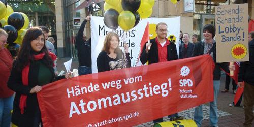 Hände weg vom Atomausstieg!