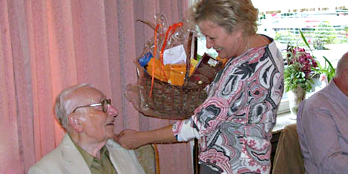 Walter Sladek feierte seinen 90. Geburtstag