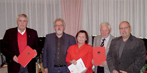 Mitgliederversammlung und Jubilarehrung des SPD-Ortsvereins Eitorf