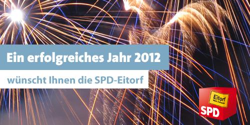 Ein erfolgreiches Jahr 2012 wünscht die SPD-Eitorf