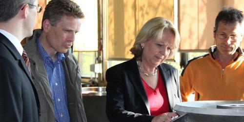 Dirk Schlömer und Hannelore Kraft