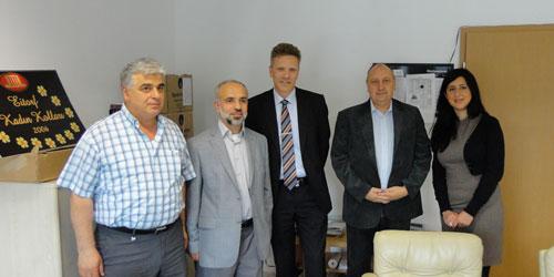 Dirk Schlömer, Irfan Saral, Bernd Zielinski, Sara Zorlu