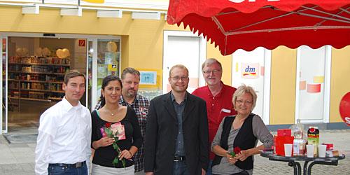 Sebstian Hartmann, Sara Zorlu, Michael Fuchs, Alexander Jüdes, Dr. Hugo Peeters, Mechtild Jüdes-Dreesen