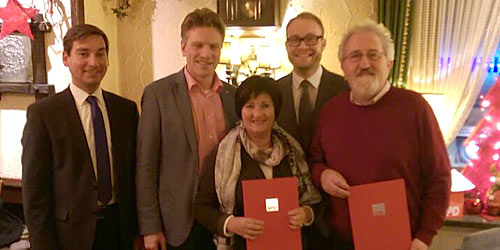 Sebastian Hartmann, Dirk Schlömer, Nanni Tendler, Alexander Jüdes, Dietmar Tendler