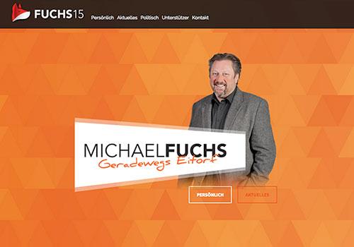 Homepage Michael Fuchs