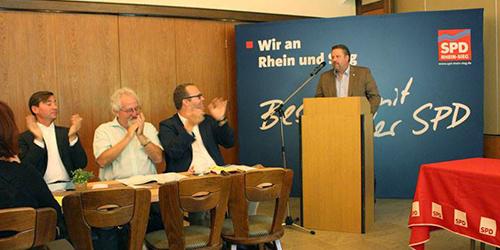 Kreisparteitag in Eitorf, Michael Fuchs
