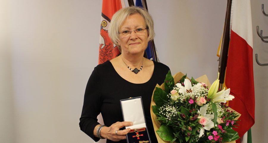 Bundesverdienstkreuz an Mechtild Jüdes-Dreesen