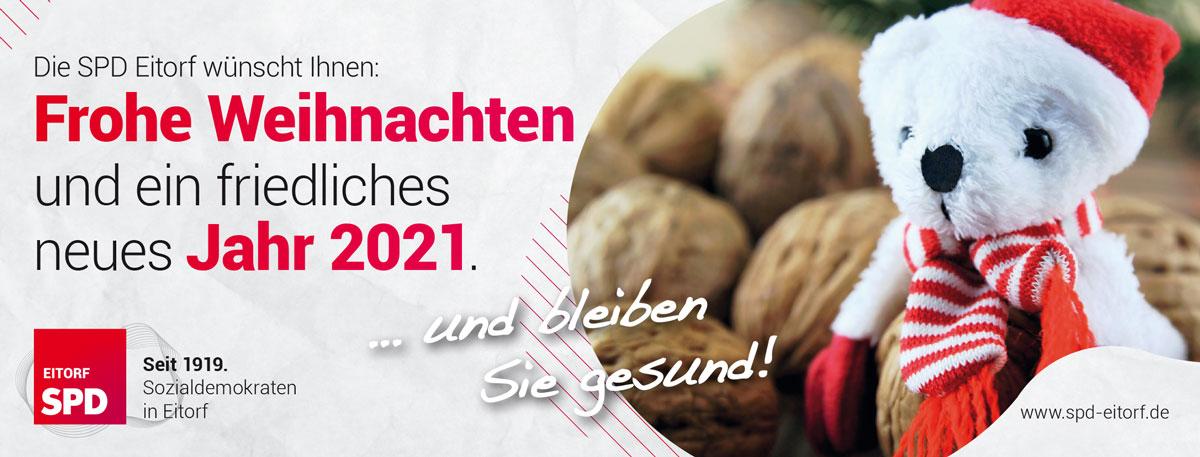 SPD Weihnachtsanzeige 2020